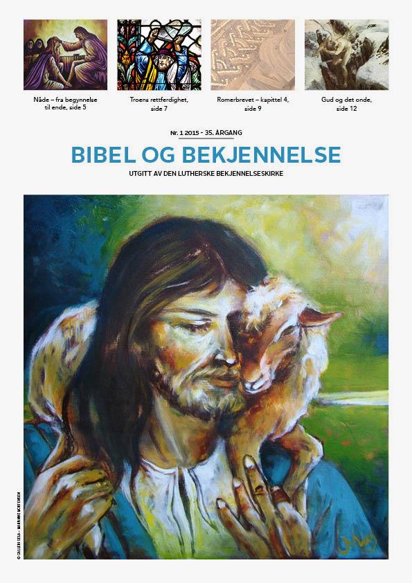 Bibel og bekjennelse 1-2015 (forside)