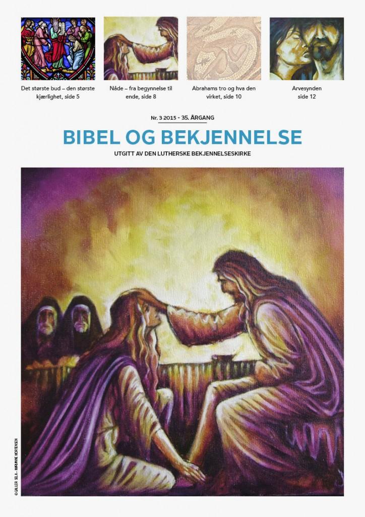 Bibel og bekjennelse 3-2015 (forside)